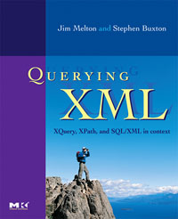 Querying XML, applied xml