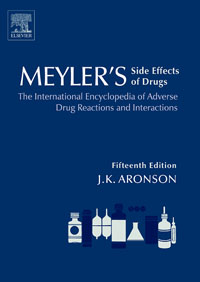 Meyler's Side Effects of Drugs, jeffrey k aronson meyler s side effects of antimicrobial drugs