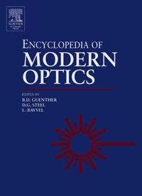 Encyclopedia of Modern Optics, Five-Volume Set, robert a meyers encyclopedia of physical science and technology eighteen volume set