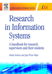 Research in Information Systems, david avison research in information systems