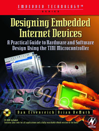 Designing Embedded Internet Devices, designing gestural interfaces touchscreens and interactive devices