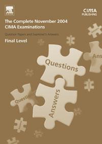 где купить CIMA November 2004 Q & As: The Complete Set - Final Level, по лучшей цене