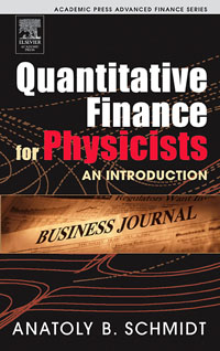 Quantitative Finance for Physicists,