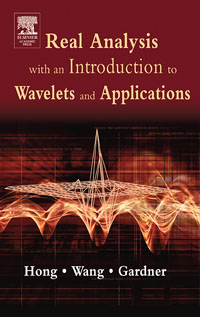 Real Analysis with an Introduction to Wavelets and Applications, wavelets processor