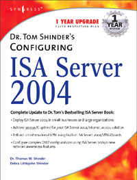 Dr. Tom Shinder's Configuring ISA Server 2004, купить