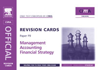 CIMA Revision Cards: Financial Strategy,