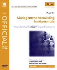 CIMA Study Systems 2006: Management Accounting Fundamentals, arab management accounting systems