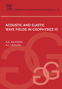 Acoustic and Elastic Wave Fields in Geophysics,  III                                   ,39 stichelbaut birger in flanders fields