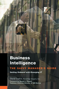 Business Intelligence, jesper thorlund business analytics for managers taking business intelligence beyond reporting