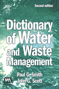 Dictionary of Water and Waste Management, elsevier s dictionary of trees