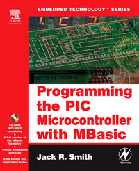 Programming the PIC Microcontroller with MBASIC, microcontroller