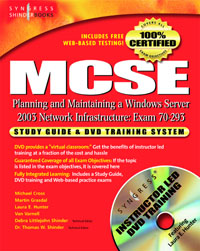 MCSE Planning and Maintaining a Microsoft Windows Server 2003 NetworkInfrastructure (Exam 70-293), microsoft migrating from microsoft windows nt server 4 0 to windows server 2003