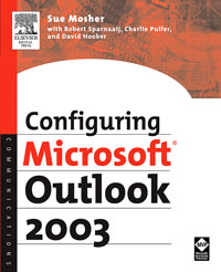 Configuring Microsoft Outlook 2003,