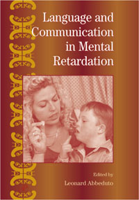 International Review of Research in Mental Retardation,27 international review of research in mental retardation 18