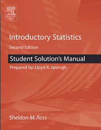 Student Solutions Manual for Introductory Statistics, allen g taylor dbasetm for windowstm solutions