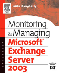Monitoring and Managing Microsoft Exchange Server 2003, managing projects made simple