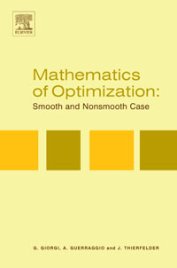 Mathematics of Optimization: Smooth and Nonsmooth Case,