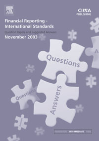 Financial Reporting International Standards November 2003 Q&As,