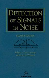 Detection of Signals in Noise, muon detection efficiencies