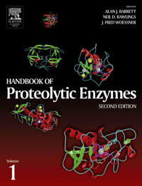 Handbook of Proteolytic Enzymes, Two-Volume Set with CD-ROM, richard j cole handbook of secondary fungal metabolites 3 volume set