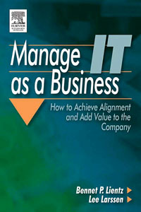 Manage IT as a Business, admin manage access