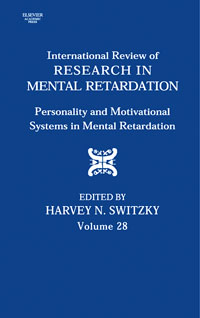 International Review of Research in Mental Retardation,28 international review of research in mental retardation 18