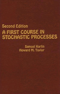 A First Course in Stochastic Processes, a little course in knitting