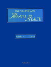 купить Encyclopedia of Mental Health, Three-Volume Set,1-3 недорого