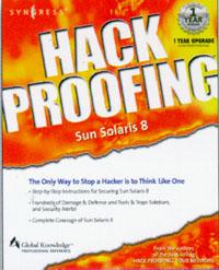 Hack Proofing Sun Solaris 8, hack