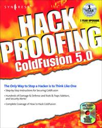 Hack Proofing ColdFusion, hack