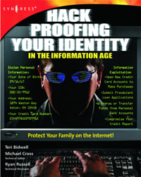 Hack Proofing Your Identity In The Information Age, hack