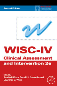 WISC-IV Clinical Assessment and Intervention kamal chitkara pre clinical assessment of eptifibatide eluting stents