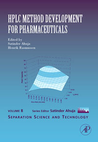HPLC Method Development for Pharmaceuticals: Volume 8 modern instrumentations of pharmaceuticals analysis
