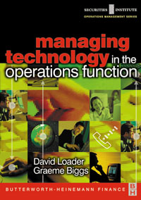 Managing Technology in the Operations Function, managing budgets