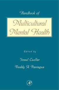 Handbook of Multicultural Mental Health, handbook of mental health and aging