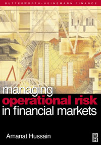 Managing Operational Risk in Financial Markets, managing budgets