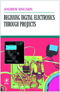 Beginning Digital Electronics through Projects, simple low cost electronics projects