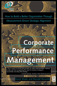 Corporate Performance Management, corporate performance management