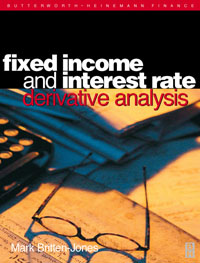 Fixed Income and Interest Rate Derivative Analysis, moorad choudhry fixed income securities and derivatives handbook