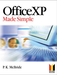 Office XP Made Simple, sweets made simple