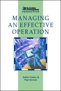 Managing an Effective Operation, managing budgets
