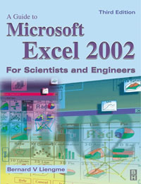 Guide to Microsoft Excel 2002 for Scientists and Engineers, modern physics for scientists and engineers