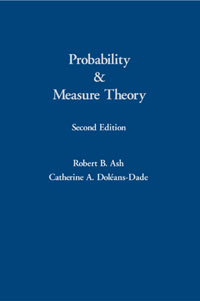 Probability & Measure Theory, new original 516 356 sa24 s4 c warranty for two year
