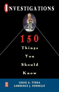 Investigations 150 Things You Should Know, лмт 150