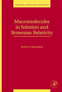Macromolecules in Solution and Brownian Relativity,15 relativity and causality