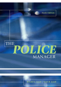 The Police Manager, police plc 12895ls 02m police