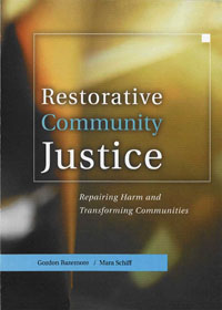 Restorative Community Justice, an evaluation of restorative justice in the youth justice framework