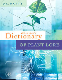 Dictionary of Plant Lore elsevier s dictionary of plant names of north america including mexico