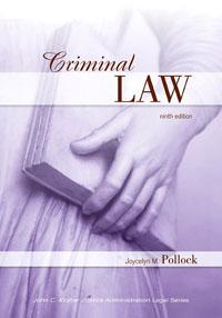 Criminal Law, law
