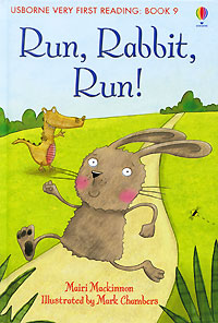 Run, Rabbit, Run! the rhyming rabbit sticker book